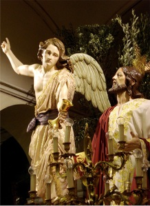 Jesús y Angel confortador
